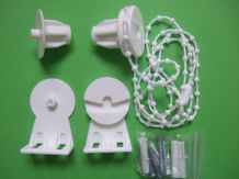 "25MM STANDARD PLASTIC ROLLER BLIND REPAIR KIT FOR 25MM(1"") EXTERNAL DIAMETER TUBE"